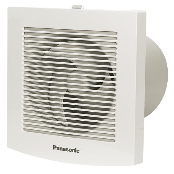Quạt thông gió gắn tường Panasonic FV-10EGF1 dành cho nhà tắm 1 chiều- có màn che,