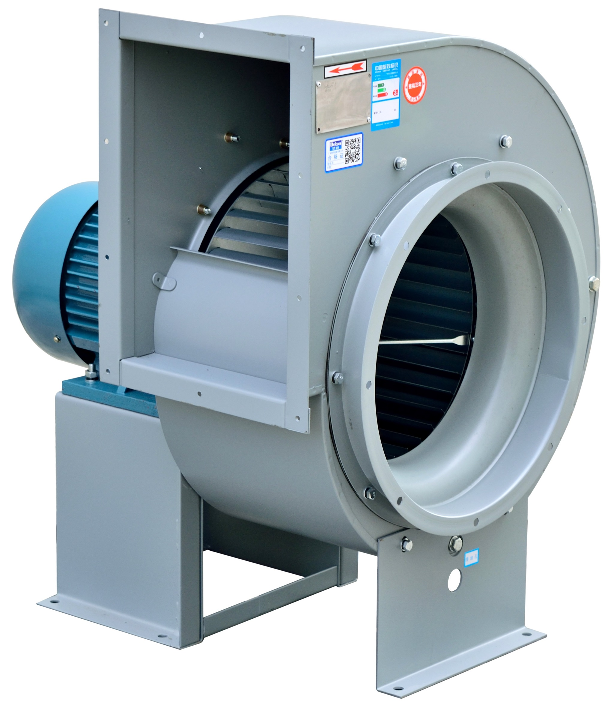 Quạt ly tâm Deton 11-62-II-5A/7.5KW-6 điện áp 380V