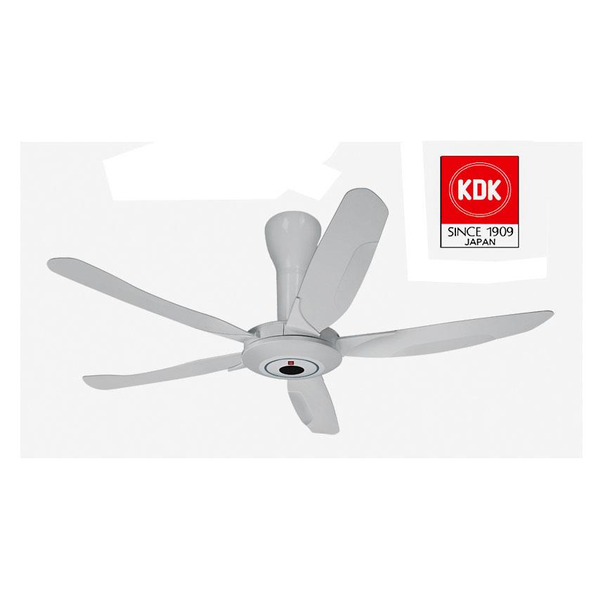 Quạt Trần KDK Z60WS màu trắng, 7 cấp độ gió
