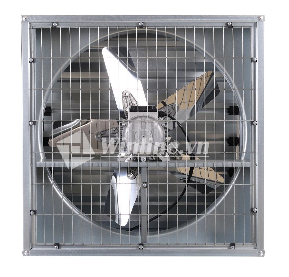 Quạt hút công nghiệp SHRV 800x800x300 điện áp 380V