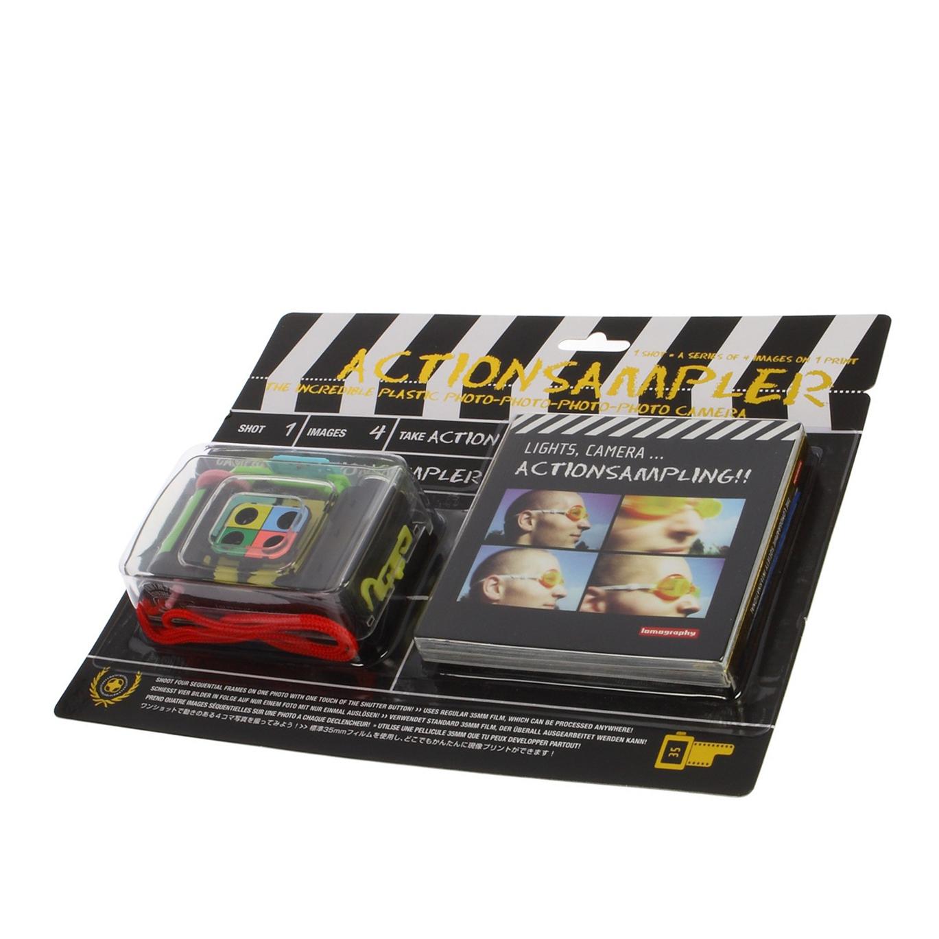 Máy ảnh film 35mm Lomography Action Sampler Transparent