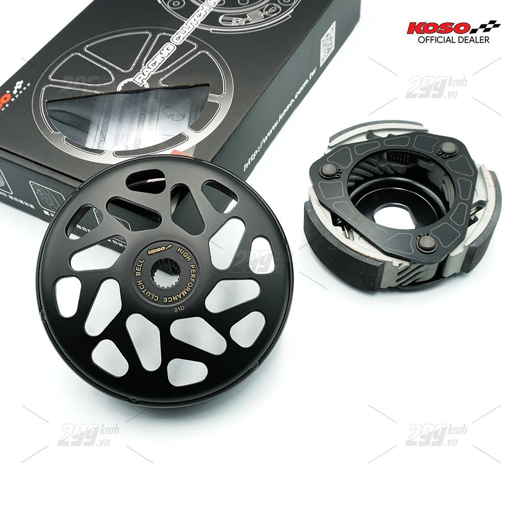 [HONDA] Bộ nồi sau chống rung ga đầu Koso Hyper Clutch cho các dòng xe tay ga Honda 125-150cc