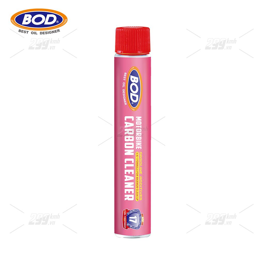 Phụ gia vệ sinh làm sạch buồng đốt BOD Gasoline Additives 50ml