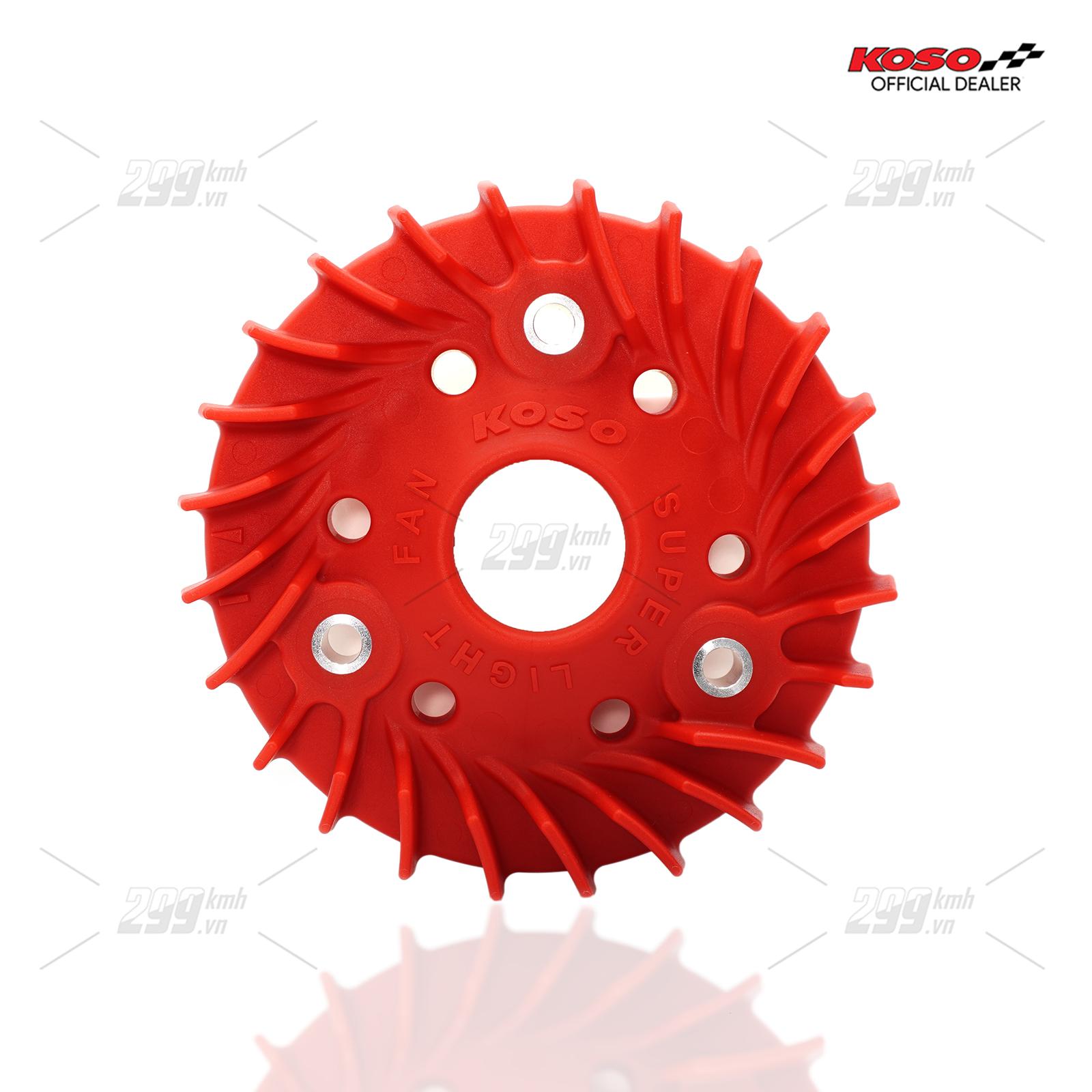 [VARIO] Cánh quạt két nước siêu nhẹ Koso Super Light Fan cho Honda Vario, Click, Air Blade 125-150