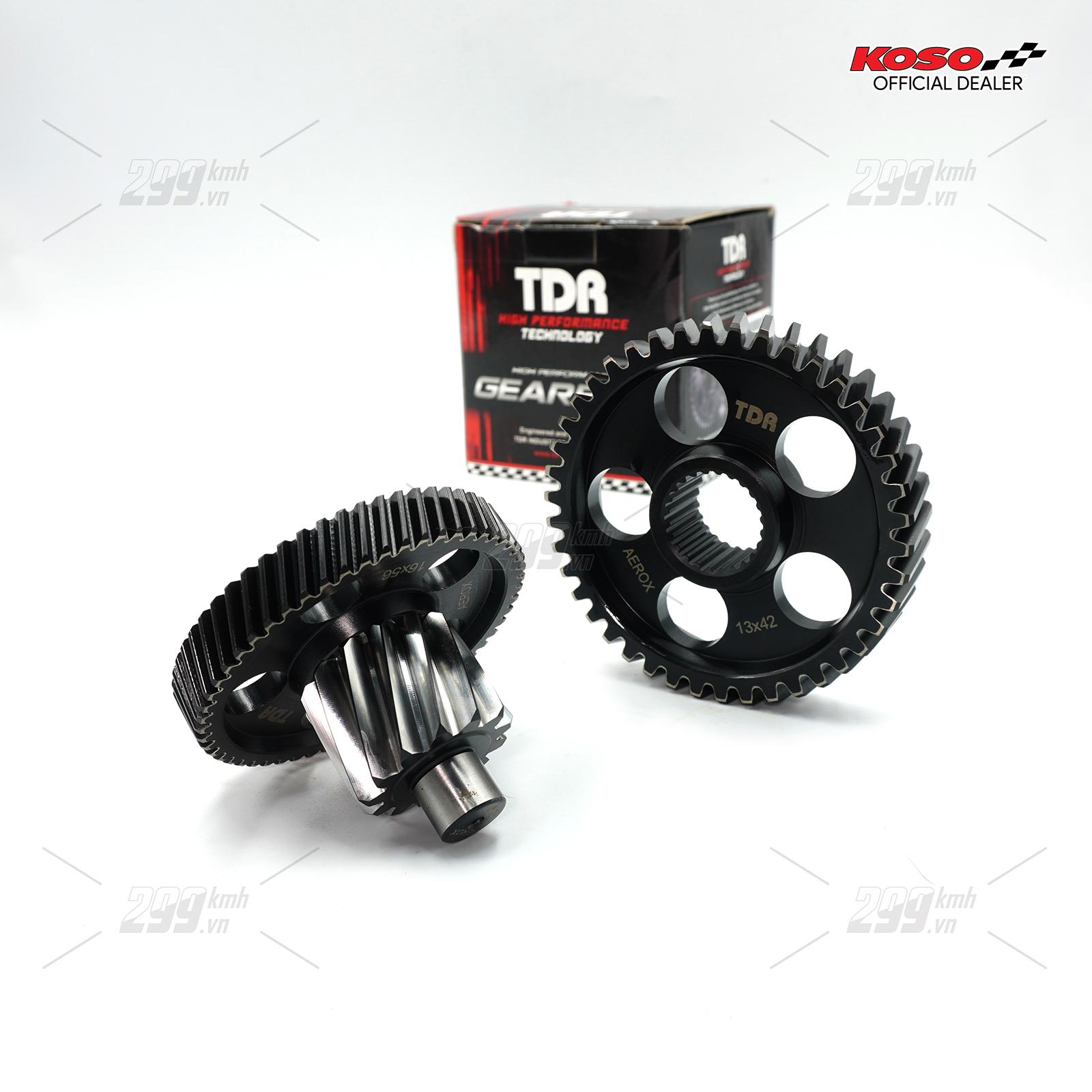 [NVX] Bộ nhông lap đấu TDR Racing cho Yamaha NVX