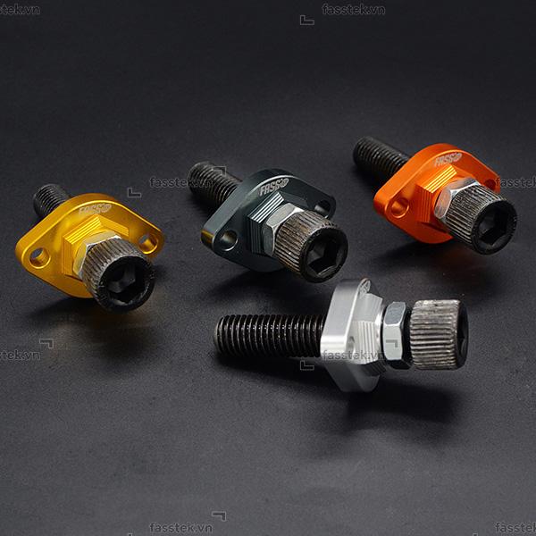 Tăng cam chỉnh tay Fasstek Racing ốc cường lực M14 cho Exciter 150
