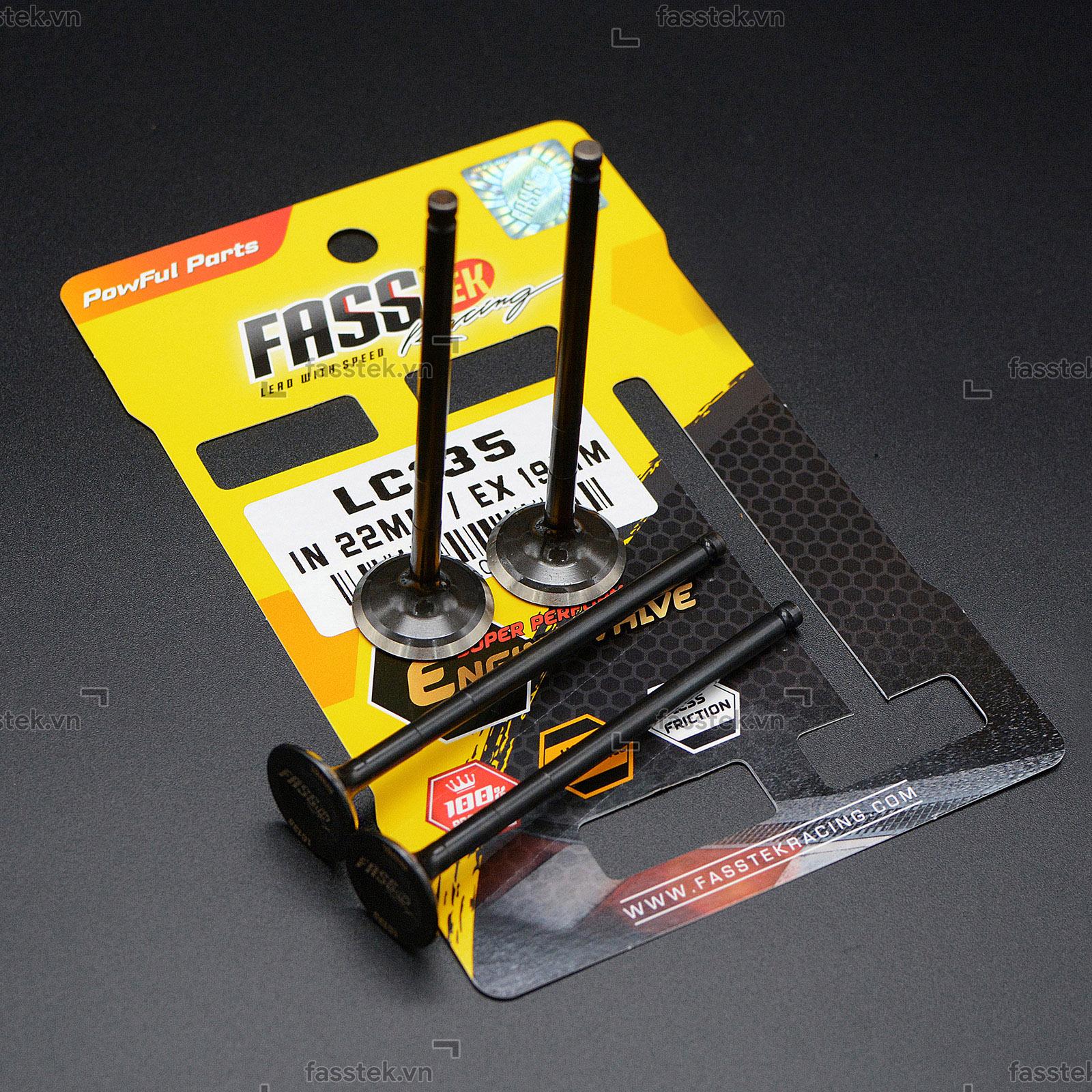 Su-pap Fasstek Racing 19/22 cho Exciter 135/150