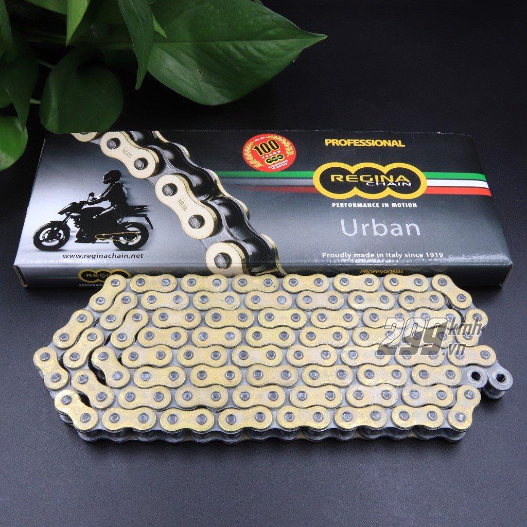 Sên vàng Regina 428 EB-ORO Made in Italy 124 mắt