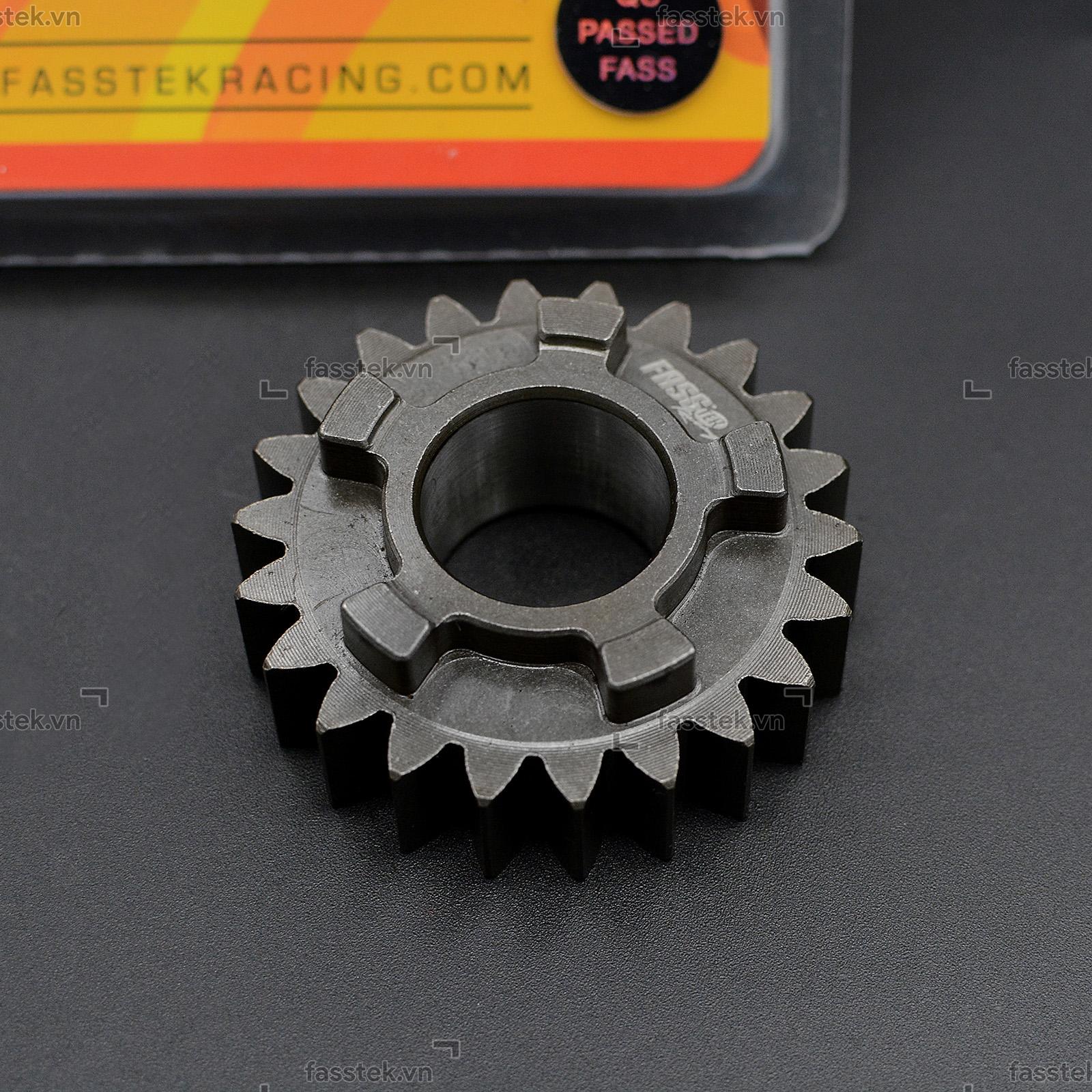 Nhông số đấu Fasstek Racing số 4TH cho Exciter 135 4S