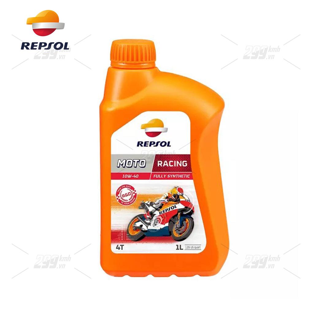 Nhớt full tổng hợp Repsol Moto Racing 10W40