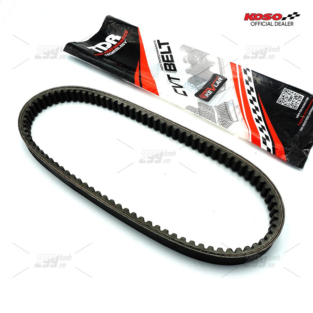 [NVX] Dây cu-roa (đai truyền động - CVT belt) TDR chất liệu sợi kevlar cho xe Yamaha NVX