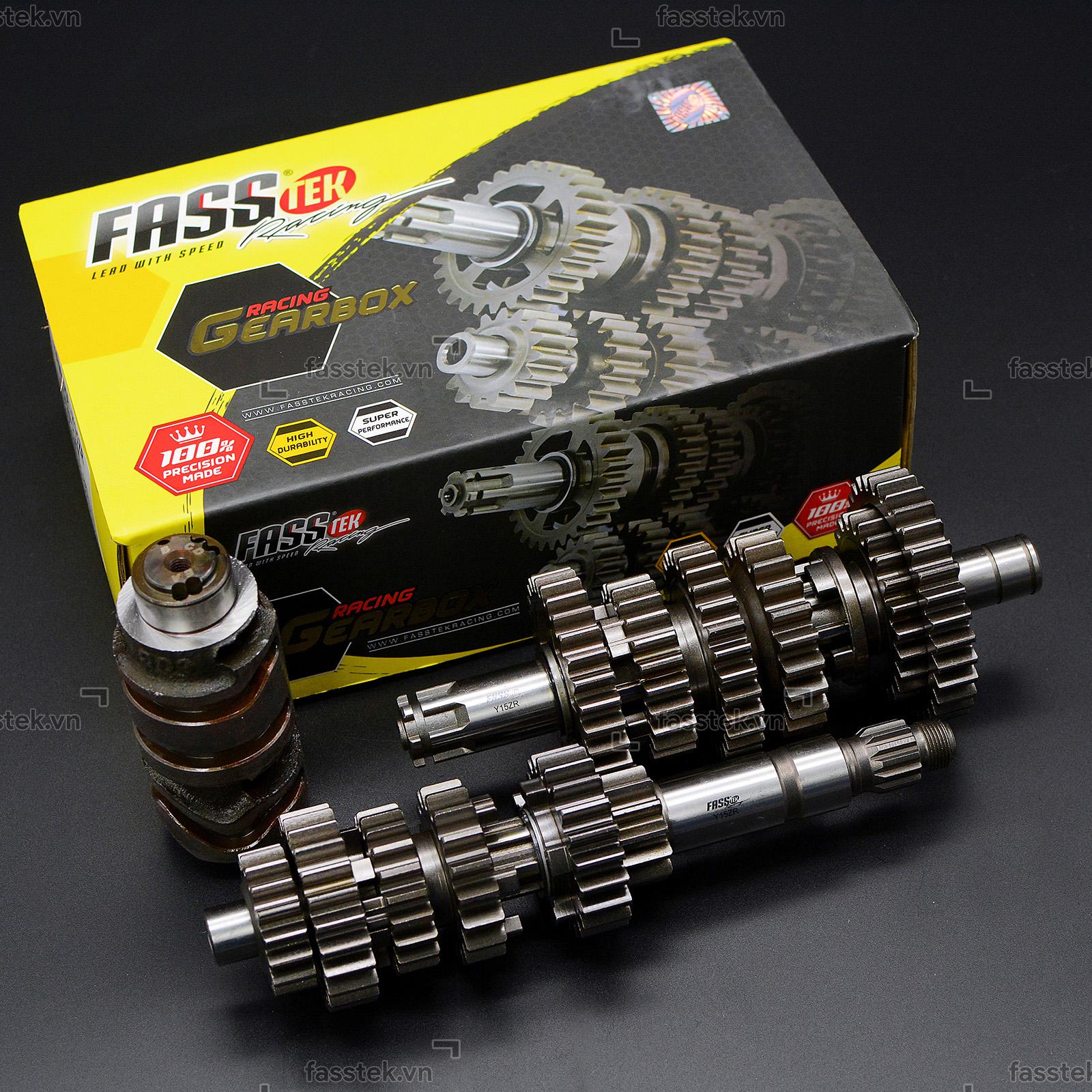 Bộ số đấu Fasstek Racing 6 số cho Exciter 135 5S/150