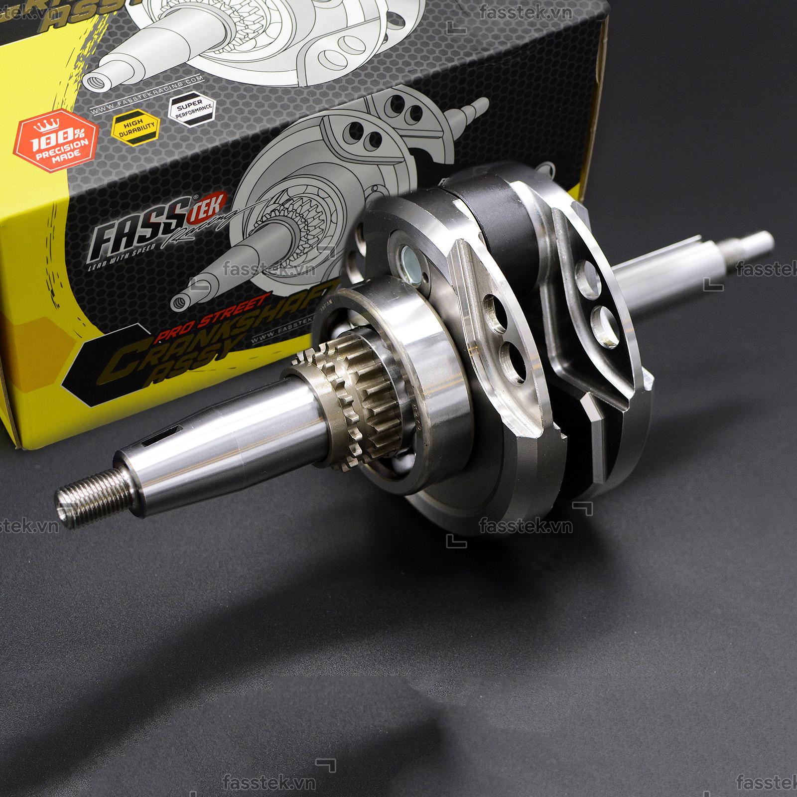 Dên đôn Fasstek Racing +5mm tay 103L cho Exciter 150