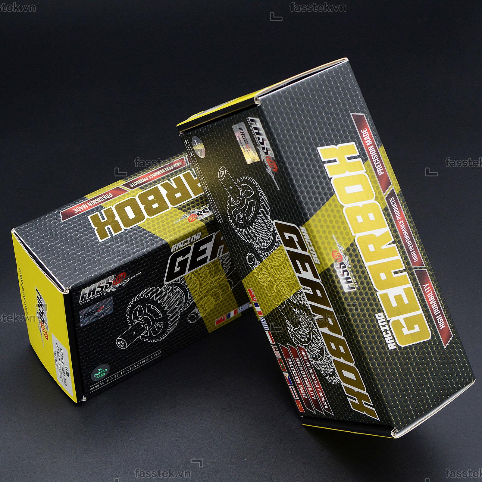 Bộ số đấu Fasstek Racing 5 số cho Exciter 135 5S/150
