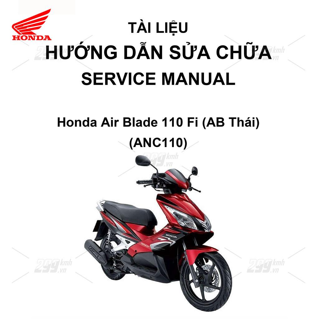 Tài liệu hướng dẫn sửa chữa (Service Manual) - Honda Air Blade 110 Fi