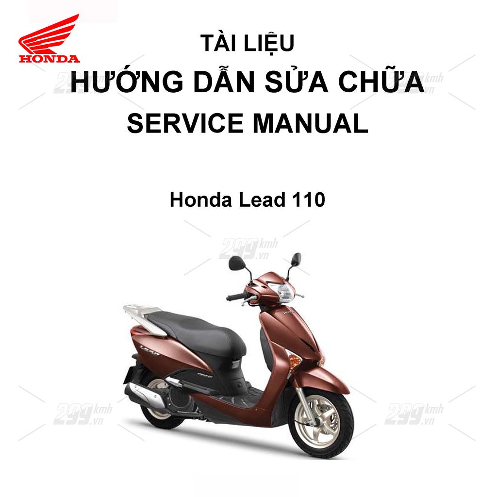 Tài liệu hướng dẫn sửa chữa (Service Manual) - Honda Lead 110