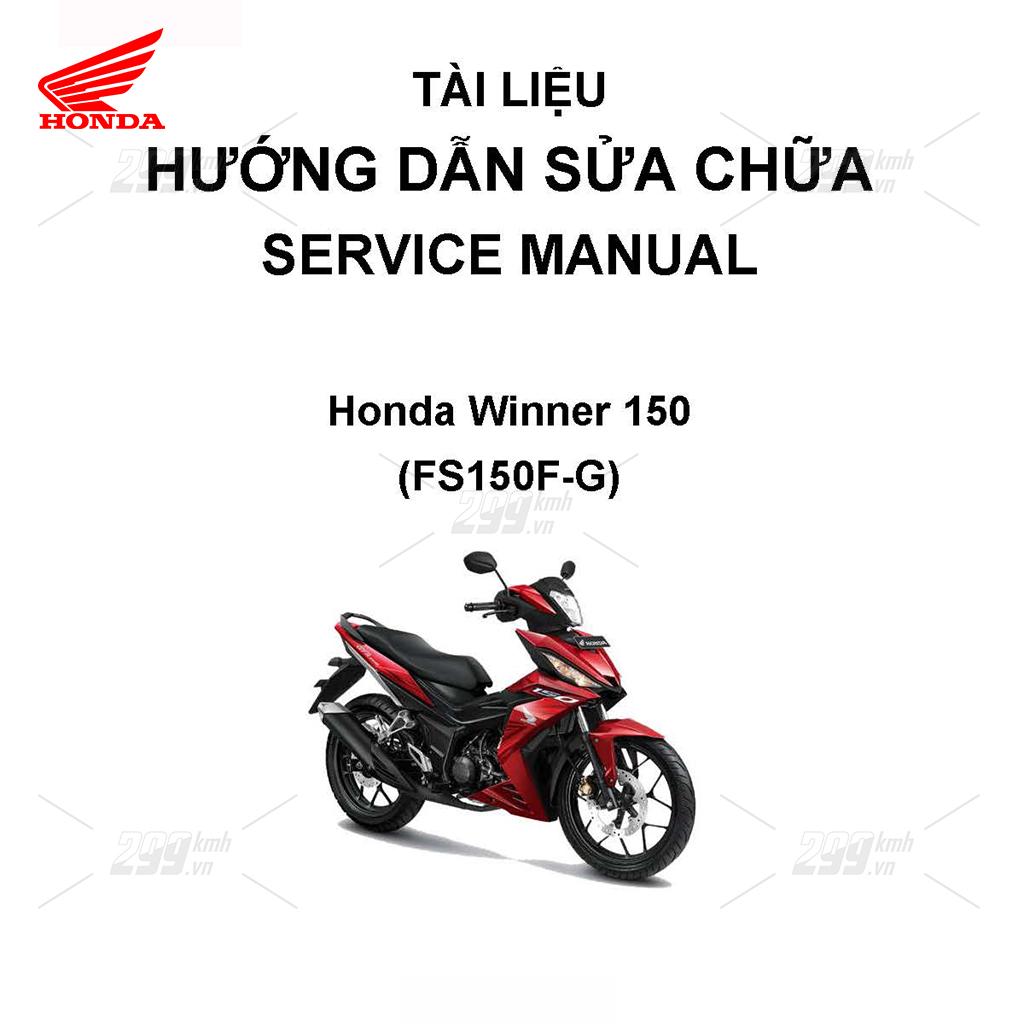 Tài liệu hướng dẫn sửa chữa (Service Manual) - Honda Winner 150