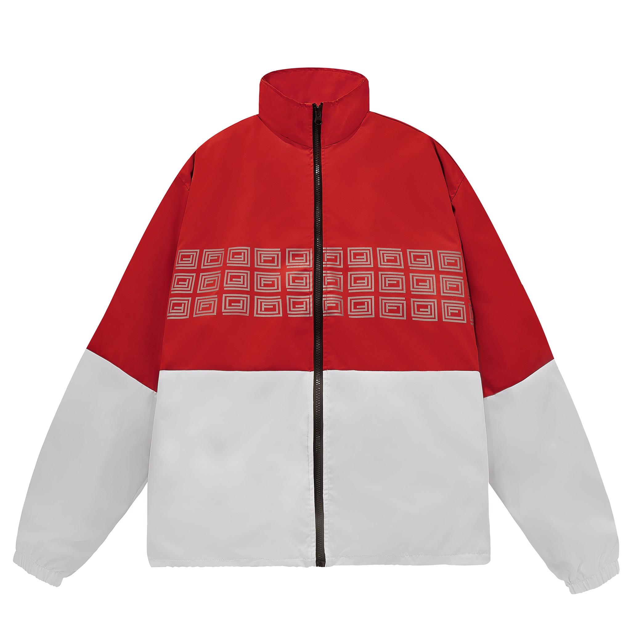 TRIO NEW LOGO JACKET/Red&White