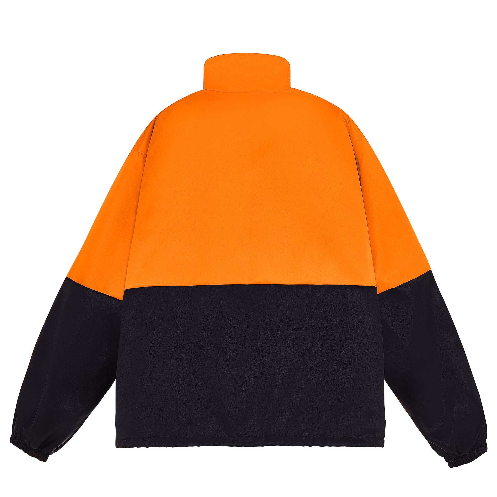 TRIO NEW LOGO JACKET/Orange&Black