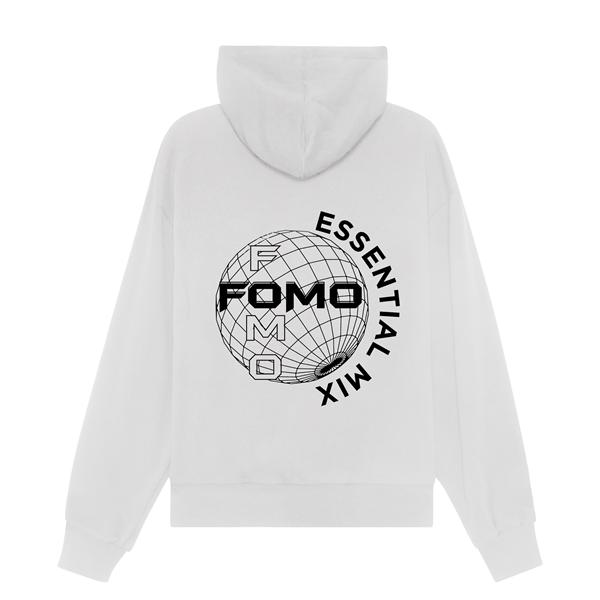 FOMO'S GLOBE HOODIE/WHITE