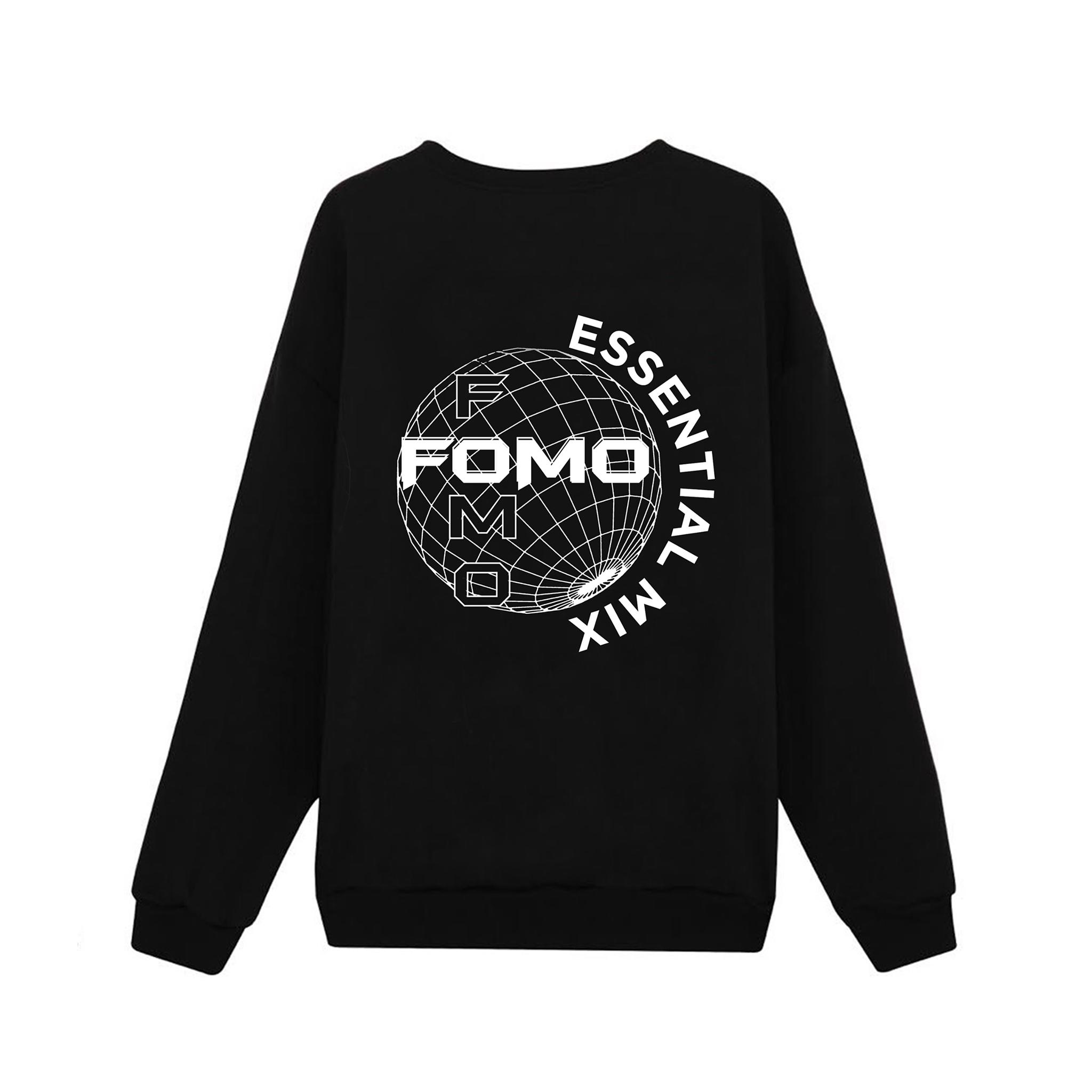 FOMO'S GLOBE SWEATER/BLACK