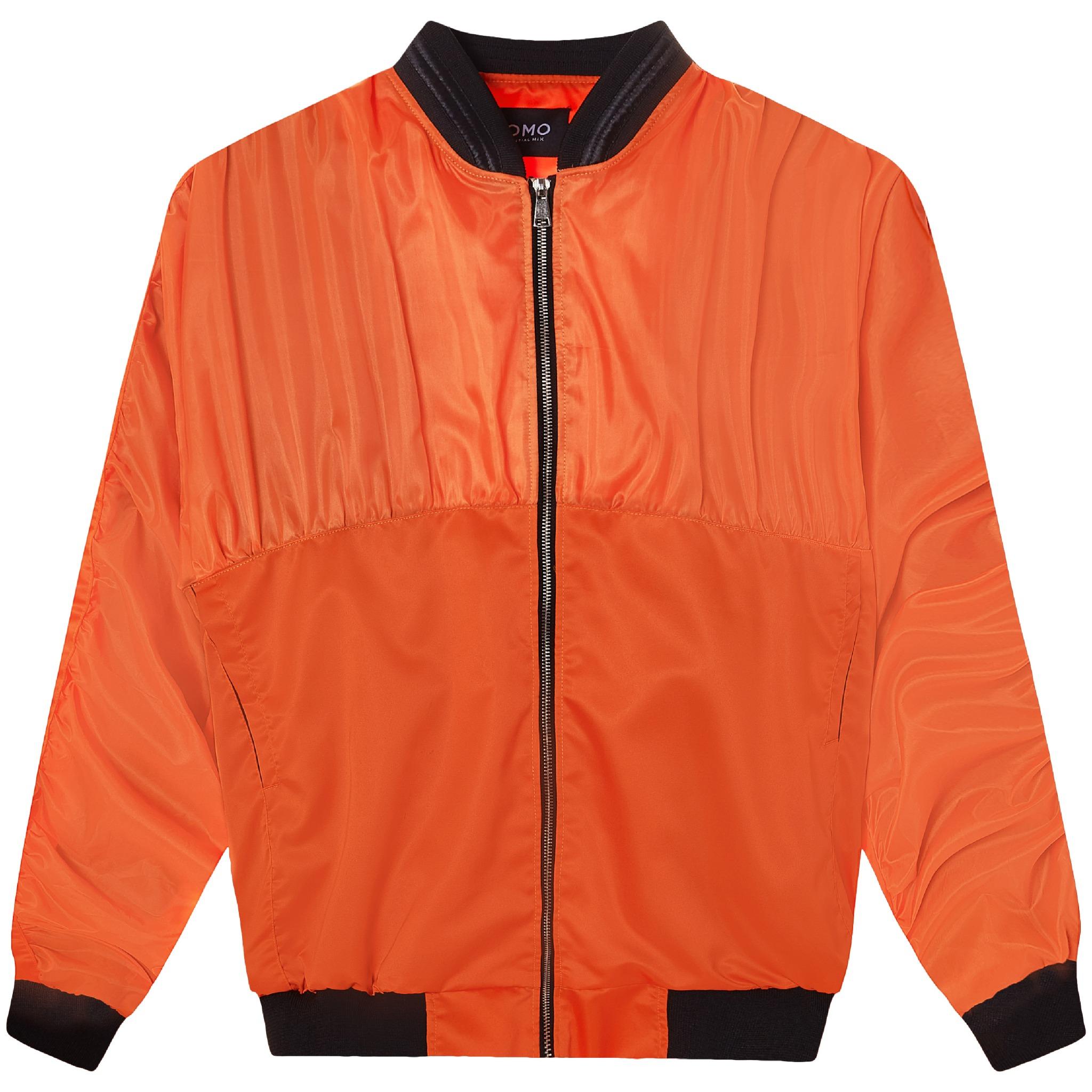 FOAM BOMBER JACKET/Orange