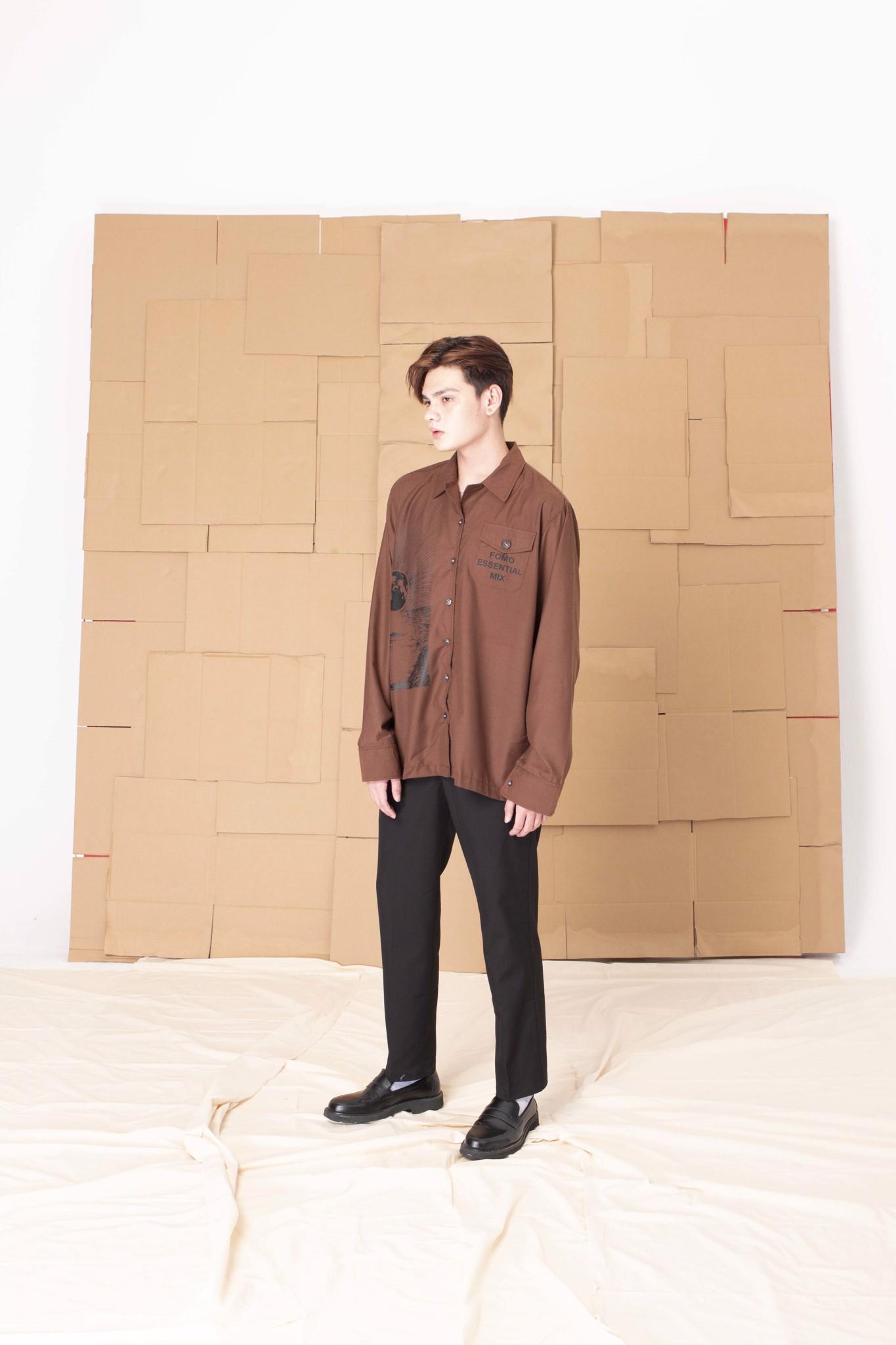 SUNRISE SHIRT/Brown