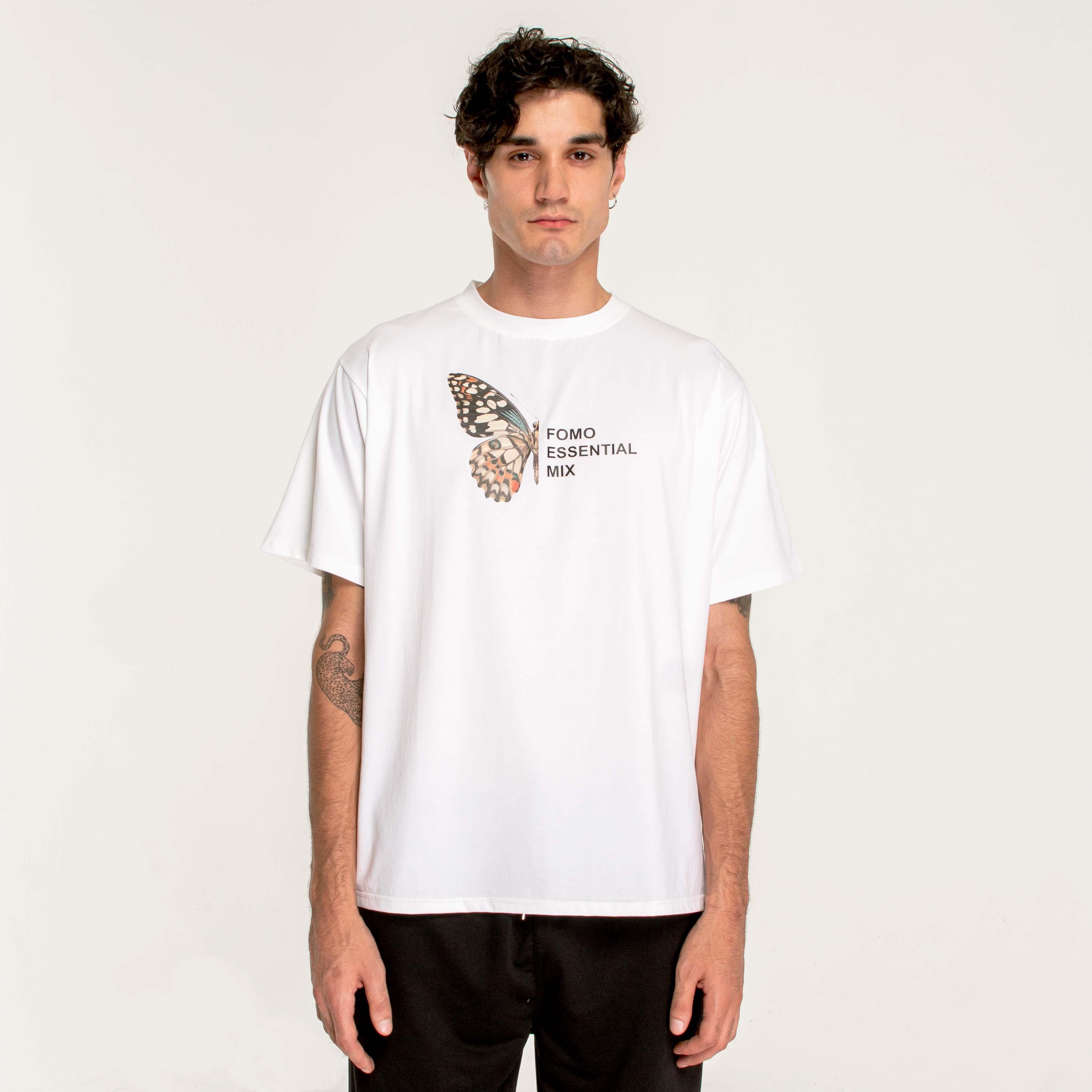 HALFLY T-SHIRT/WHITE
