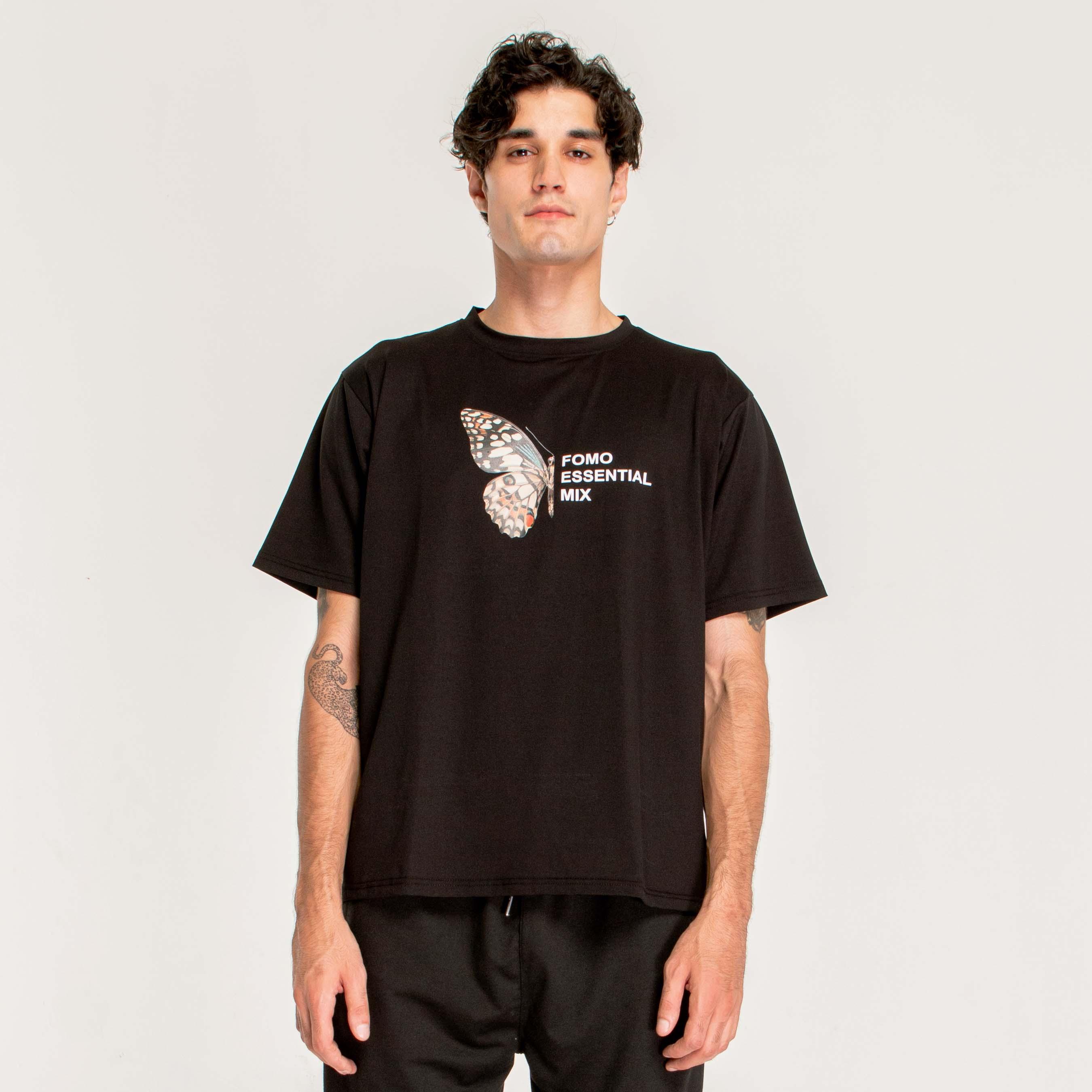 HALFLY T-SHIRT/BLACK
