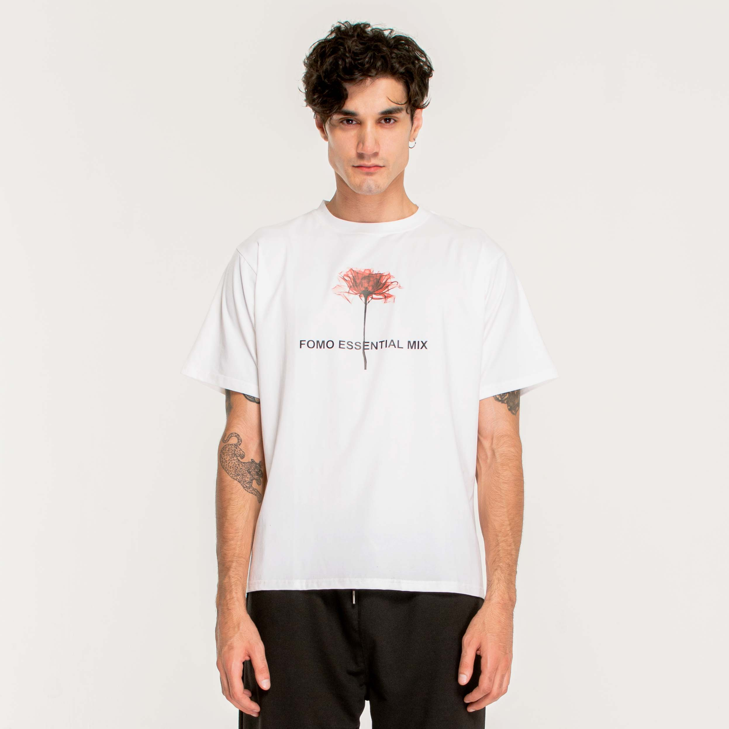 ESSENTIAL FLORET T-SHIRT/WHITE