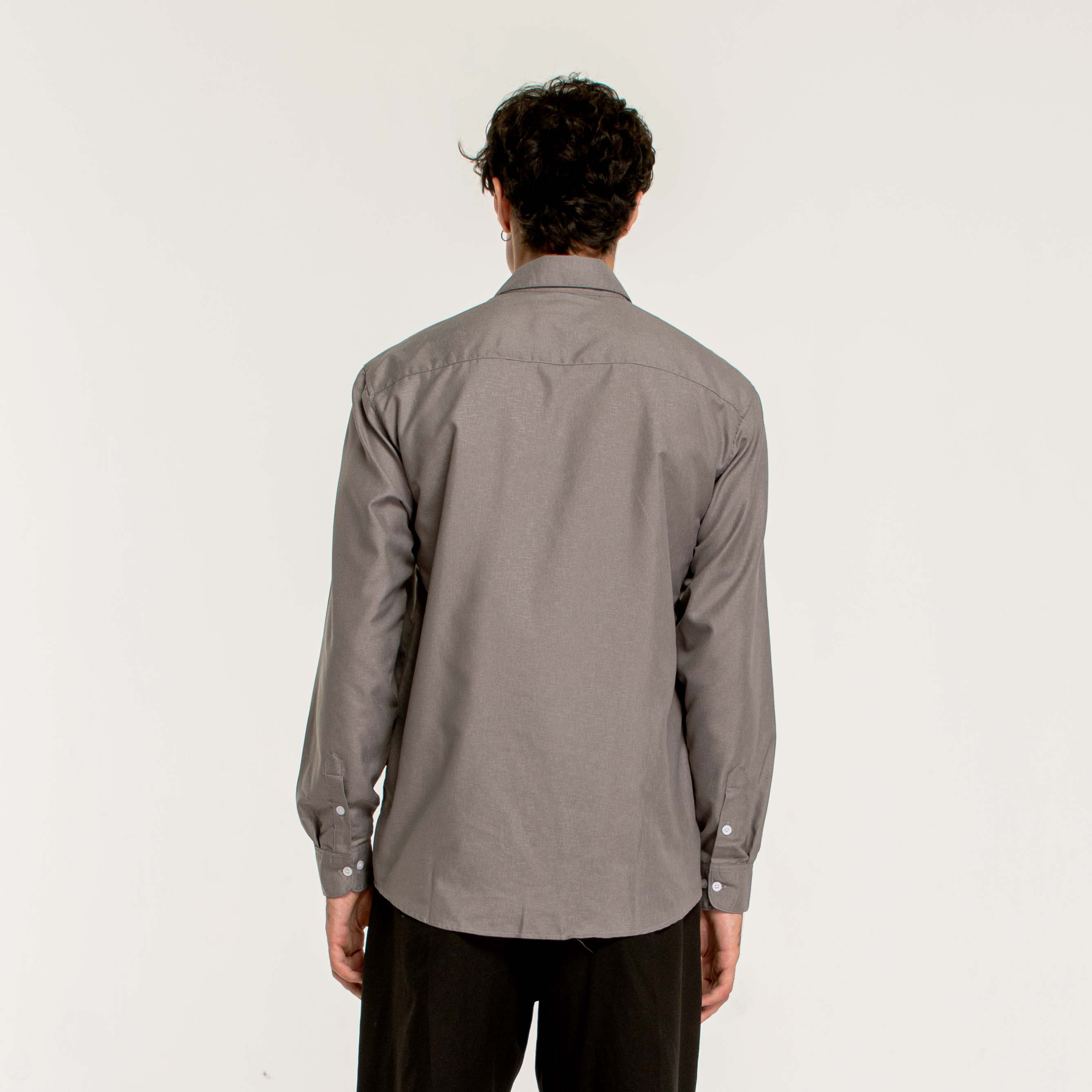 ESSENTIAL SHIRT/Grey