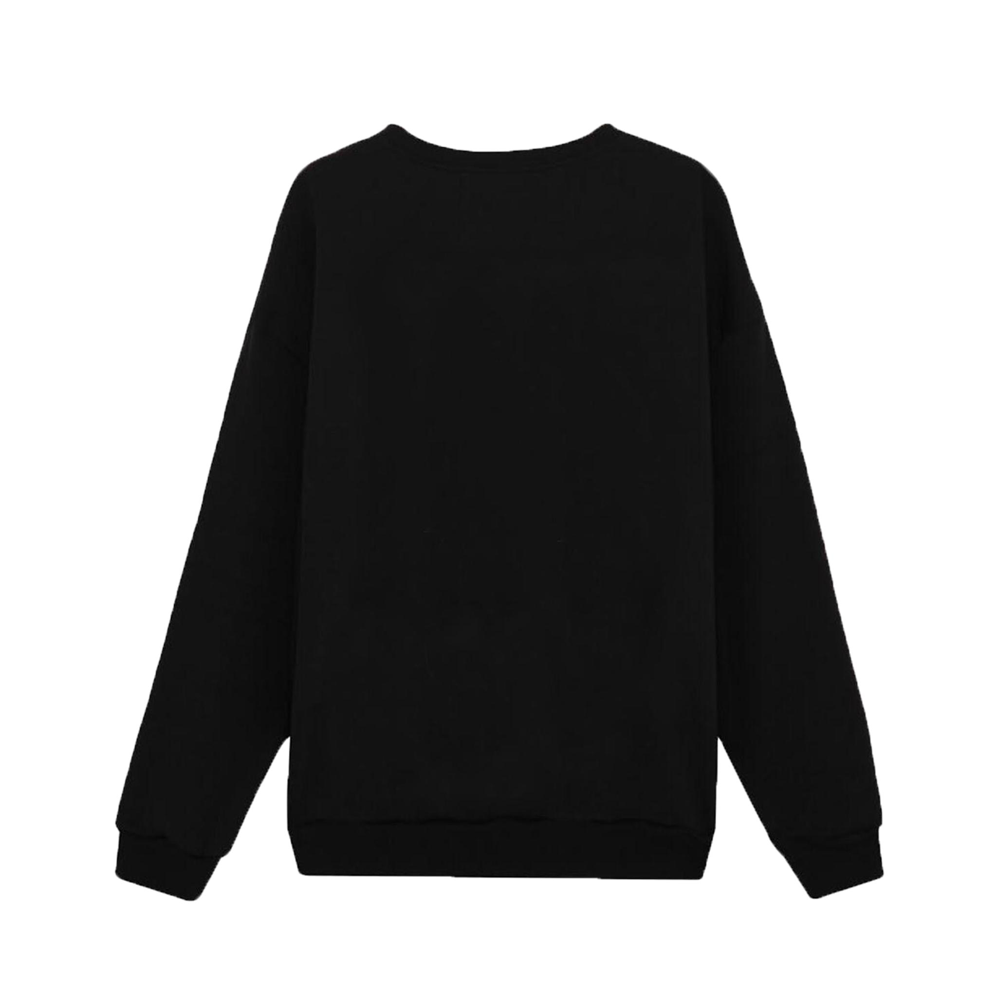 CASSETTE SWEATER/BLACK
