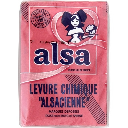 Baking powder pháp Alsa 11g