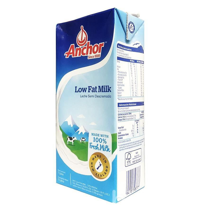 Sữa tươi Anchor Low Fat Milk 1L 1