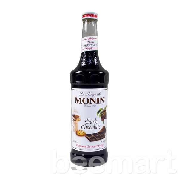 Siro Monin socola đen (Dark chocolate) 700ml