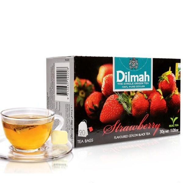 Trà dâu Dilmah Strawberry 1