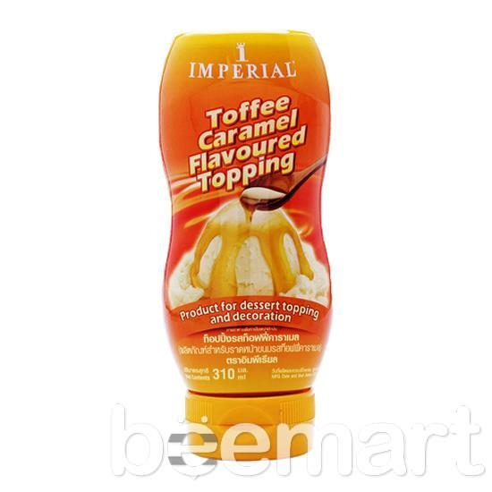 Sốt syrup topping caramel Imperial 310gr