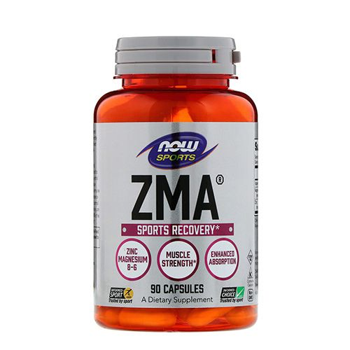 Now Sports ZMA Sports Recovery, 180 Capsules