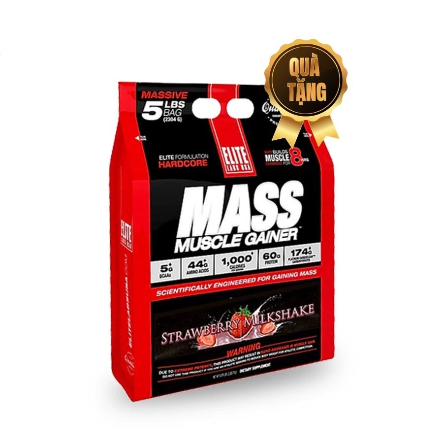 EliteLab Mass Muscle Gainer, 5 Lbs (2.3 kg)