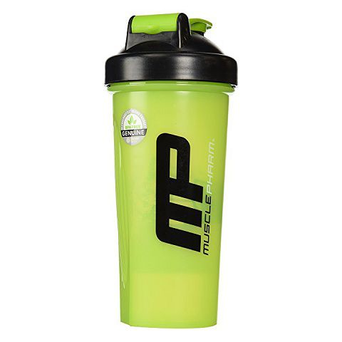 Musclepharm Shaker Bottle Green & Black, 700ml