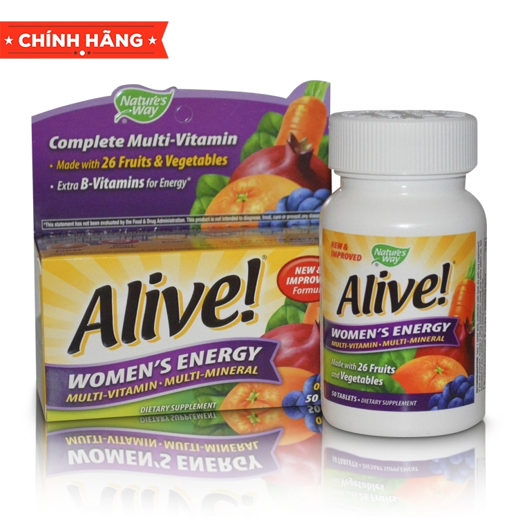 Alive! Woman's Energy Multi-vitamin and Multi-Mineral