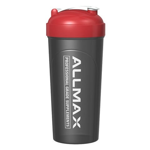 AllMax Nutrition Leak-Proof Shaker Bottle, Black