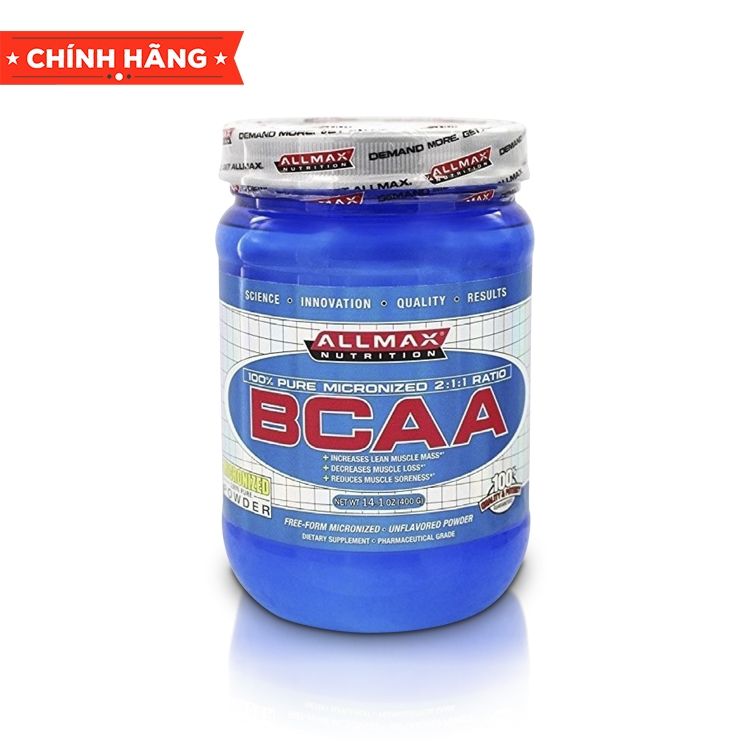 AllMax Nutrition BCAA, 400 Gam (80 Servings)