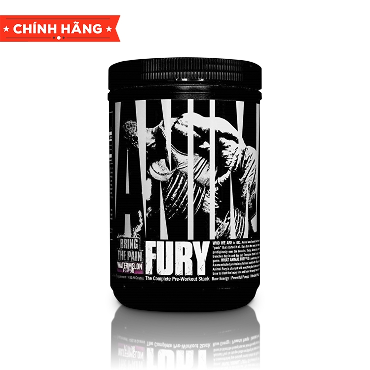 Animal Fury, 30 Servings