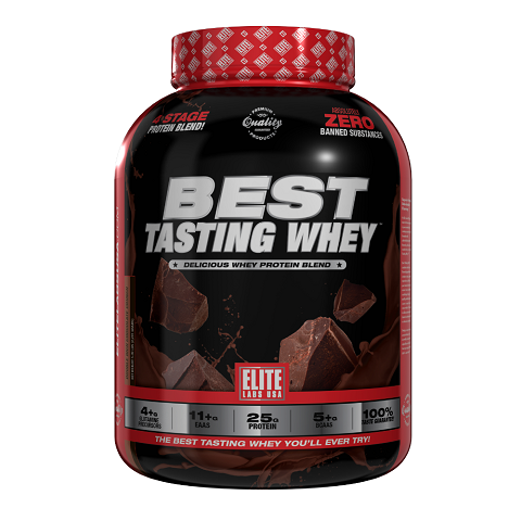 Elite Labs USA Best Tasting Whey, 5 Lbs (60 Servings)