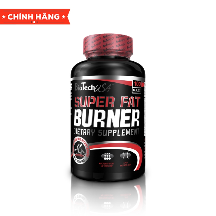 BioTech USA Super Fat Burner, 120 Tablets