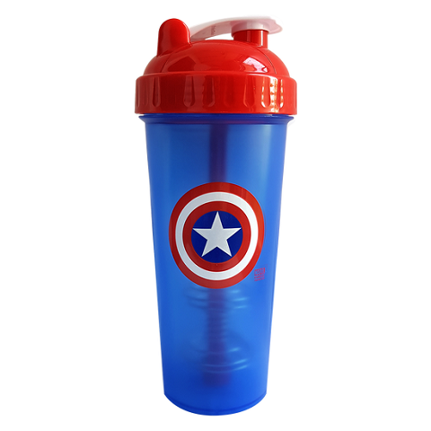 Hero Series Shaker, CAPTAIN AMERICA Super Hero (860 ml)
