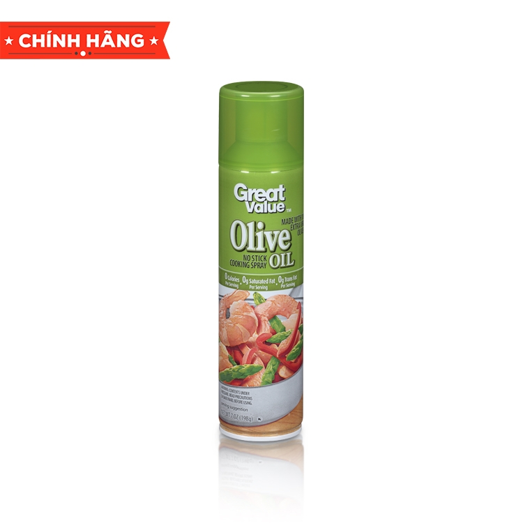 Dầu ăn dạng xịt - Cooking Spray Great Value