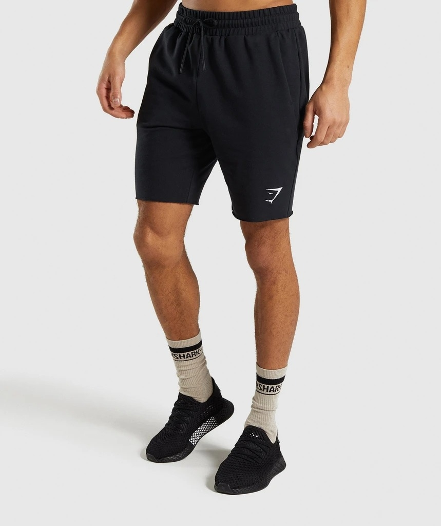 Quần shorts Gymshark Mens Ozone Shorts - Black