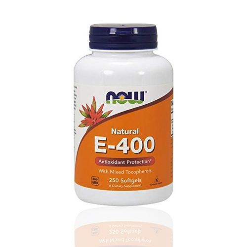 Natural Vitamin E-400 With Mixed Tocopherols, 250 Softgels